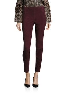 Saks Fifth Avenue Collection Suede Leggings