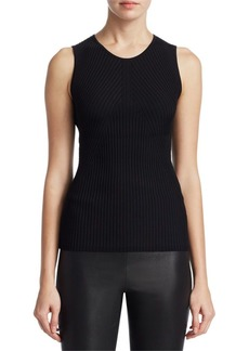 Saks Fifth Avenue COLLECTION Ribbed Tank Top