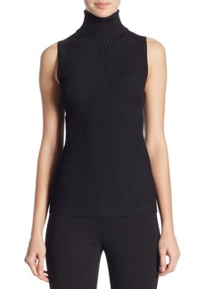 Saks Fifth Avenue COLLECTION Ribbed Turtleneck Sweater