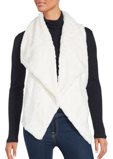 Saks Fifth Avenue Cordova Faux Fur Textured Vest