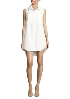 Saks Fifth Avenue Cotton Shirt Dress