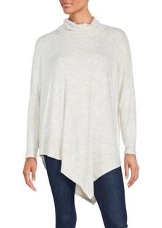 Saks Fifth Avenue Cozy Asymmetrical Pullover