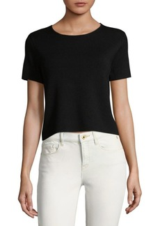 Saks Fifth Avenue Cropped Tee