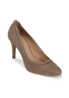 Saks Fifth Avenue Cutout Leather Pumps