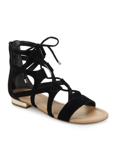 Saks Fifth Avenue Danos Leather Gladiator Sandals