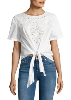Saks Fifth Avenue Delora Cotton Top