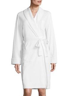 Saks Fifth Avenue Diamond Quilted Interlock Robe
