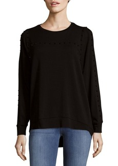 Saks Fifth Avenue Dolman Stud Top