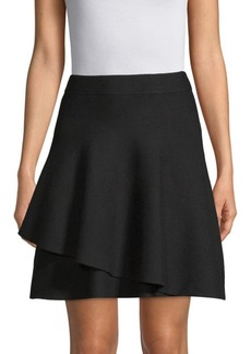 Saks Fifth Avenue Double Layer Ruffle Skirt