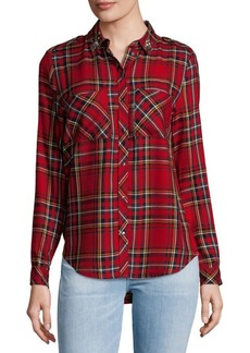 Saks Fifth Avenue Embellished Button-Down Shirt