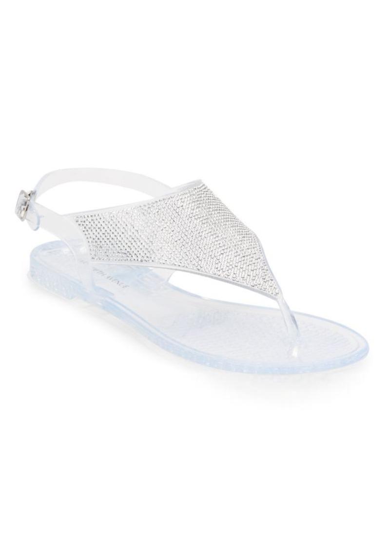 Saks Fifth Avenue Embellished Thong Sandals