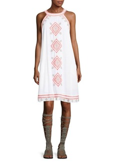 Saks Fifth Avenue Embroidered Dress
