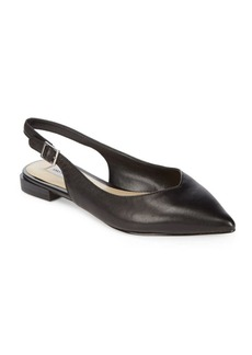 Saks Fifth Avenue Esmond Leather Slingbacks