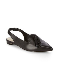 Saks Fifth Avenue Estella Leather Flat