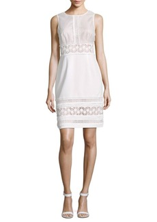 Saks Fifth Avenue Eyelet Sheath Dress