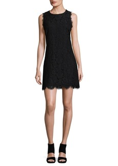 Saks Fifth Avenue Floral Lace Dress