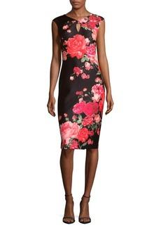Saks Fifth Avenue Floral-Print Sheath Dress