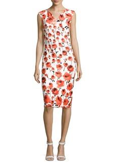 Saks Fifth Avenue Floral-Printed Sheath Dress