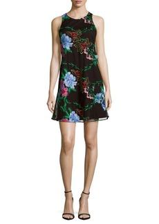 Saks Fifth Avenue Floral Sleeveless Dress