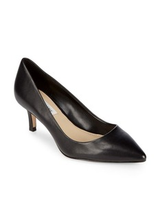 Saks Fifth Avenue Gracie Leather Pumps