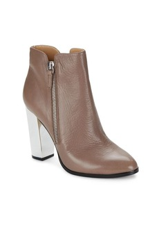 Saks Fifth Avenue Hallie Leather Booties