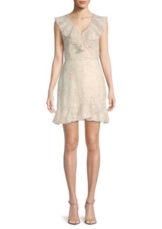 Saks Fifth Avenue Harleigh Embroidered A-Line Dress