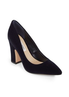 Saks Fifth Avenue Jemella Suede Pumps