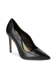 Saks Fifth Avenue Karlie Leather High Heel Pumps