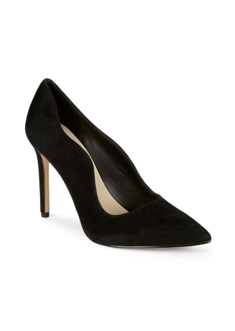 Saks Fifth Avenue Karlie Suede High Heel Pump