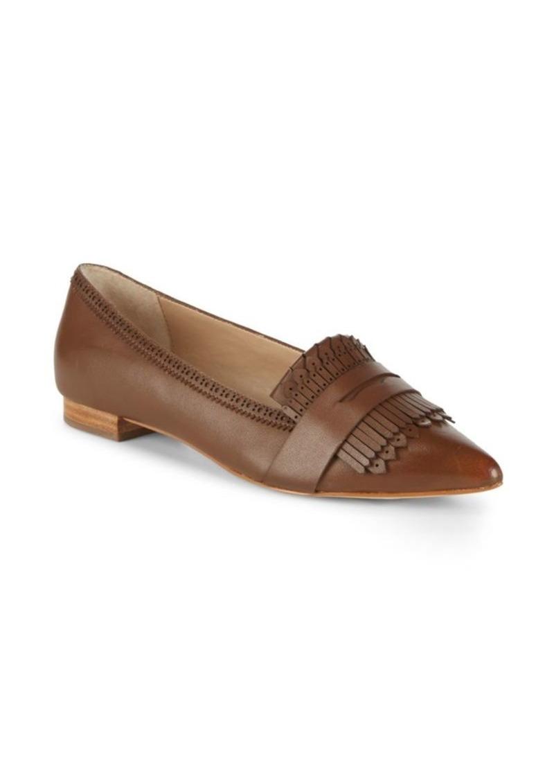 Saks Fifth Avenue Kayla Fringed Leather Loafers