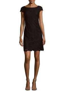 Saks Fifth Avenue Lace Shift Dress