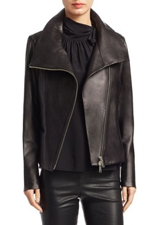Saks Fifth Avenue COLLECTION Classic Leather Jacket