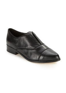 Saks Fifth Avenue Leather Slip-On Loafers