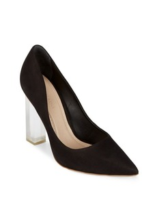 Saks Fifth Avenue Leather Slip-On Pumps