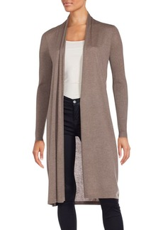 Saks Fifth Avenue BLUE Cashmere Blend Duster