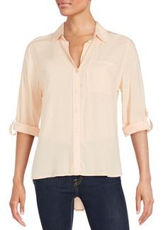 Saks Fifth Avenue Long Sleeve Button-Down Shirt