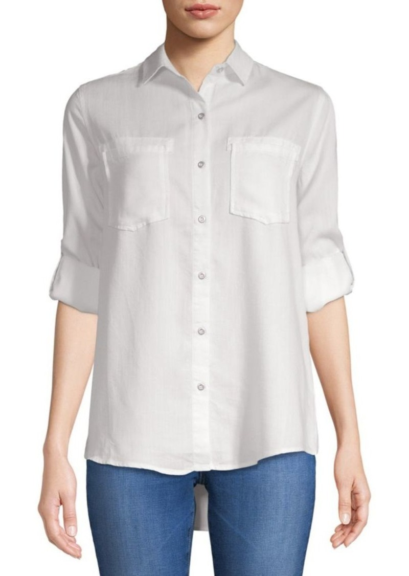 Saks Fifth Avenue Long-Sleeve Button-Down Shirt