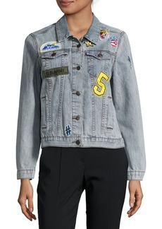 Saks Fifth Avenue Long-Sleeve Denim Jacket