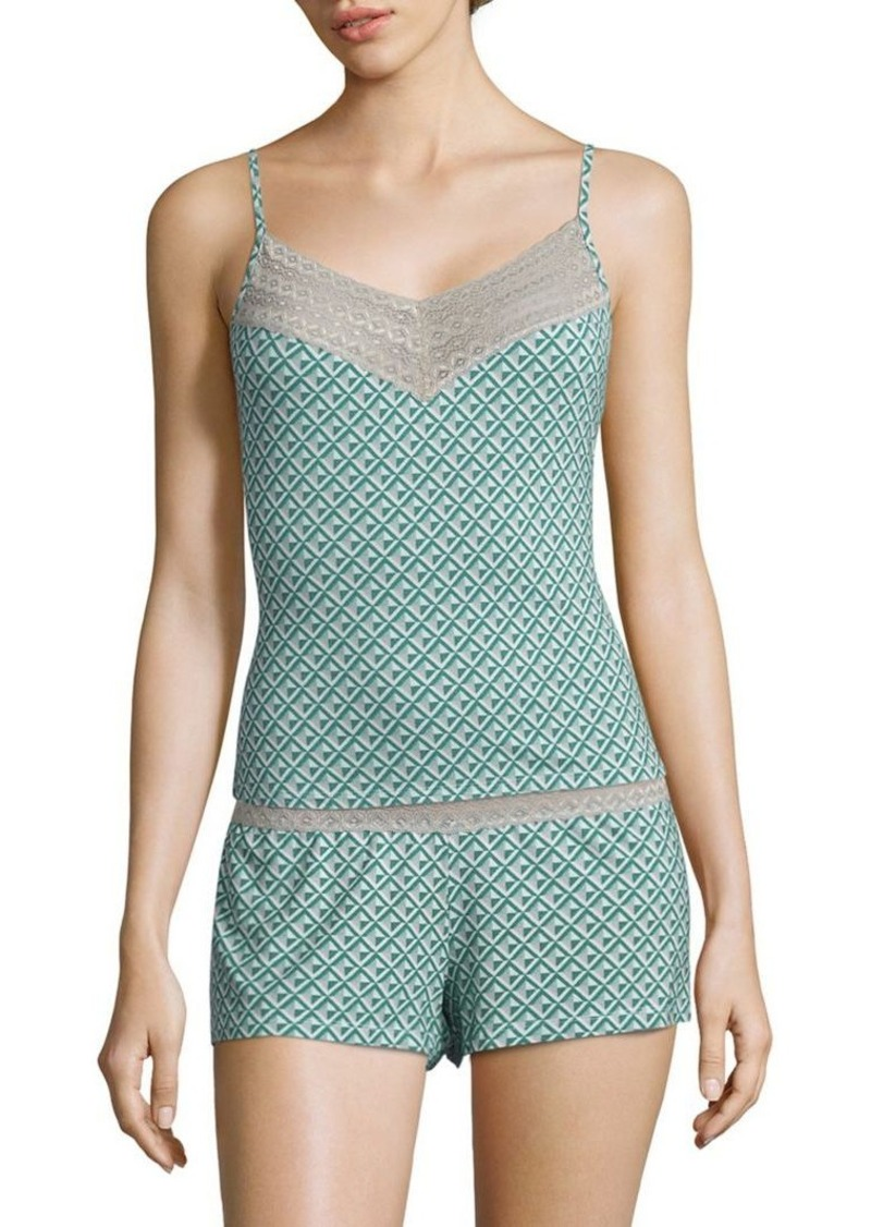 Saks Fifth Avenue Lori Diamond-Printed Camisole