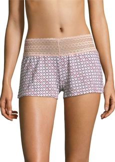 Saks Fifth Avenue Lori Geometric Boxer Shorts