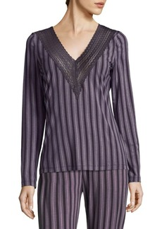 Saks Fifth Avenue COLLECTION Lori Striped Top
