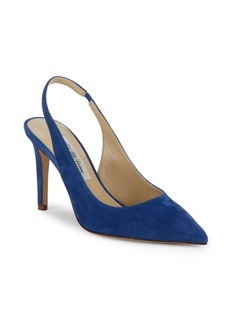 Saks Fifth Avenue Made in Italy Emilia Point-Toe Stilettos