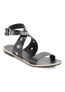 Saks Fifth Avenue Made in Italy Open-Toe Leather Sandals