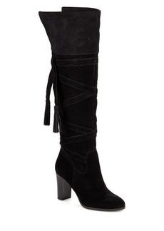 Saks Fifth Avenue Mariann Tasseled Knee-High Boots