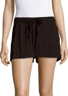 Saks Fifth Avenue Marlin Solid Four-Pocket Shorts