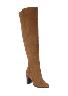 Saks Fifth Avenue Marlow Tall Suede Heeled Boots
