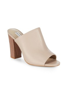 Saks Fifth Avenue Melina Block Heel Mules