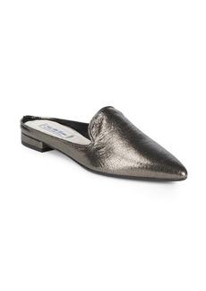 Saks Fifth Avenue Metallic Mules