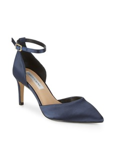 Saks Fifth Avenue Mia Satin D'Orsay Pumps