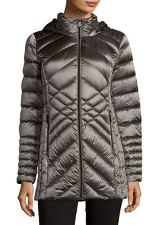 Saks Fifth Avenue Missy Packable Quilted Jacket